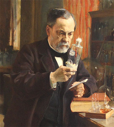 """louis pasteur and the invention of alcohol Louis pasteur spent much of his time studying alcohol often encountered bitter , cloudy, or slimy wine,"""" writes science historian louise robbins in his 2001 book """"louis pasteur and the hidden world of microbes"""" he created vaccines for chicken cholera, anthrax and rabies, ushering in the era of """"preventive medicine""""."""